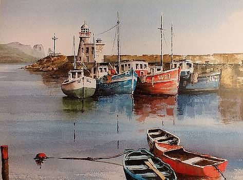 Val Byrne - Howth Harbour Dublin