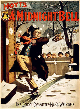 Hoyt's A midnight bell, performing arts poster, 1896 by Vintage Printery