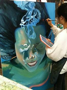 HSC student by Croydon Art studio