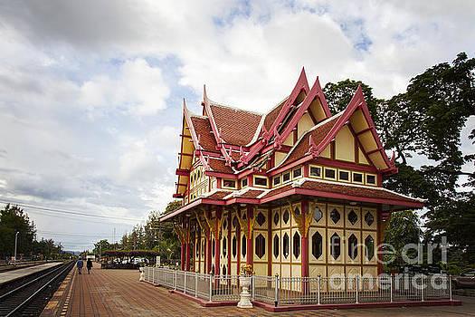Sophie McAulay - Hua Hin train station pavilion