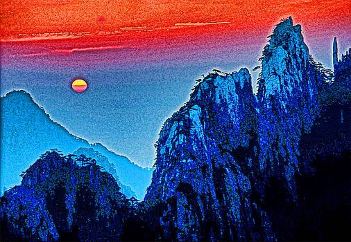 Dennis Cox - Huangshan Sunset