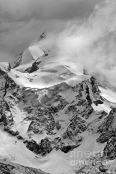 James Brunker - Huayna Potosi Ice and Clouds 1