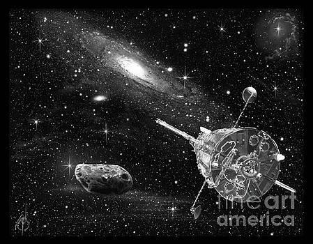 Hubble Telescope by Murphy Elliott