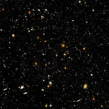 Hubble Ultra Deep Field by NASA and the European Space Agency