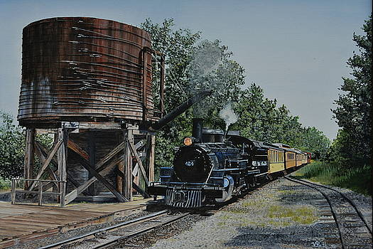 Huckleberry Railroad by Vicky Path