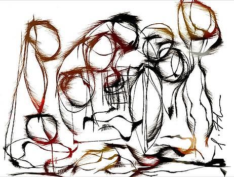 Huddled by Iris Fletcher