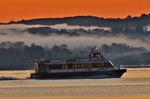 Hudson Ferry by Thomas McGuire
