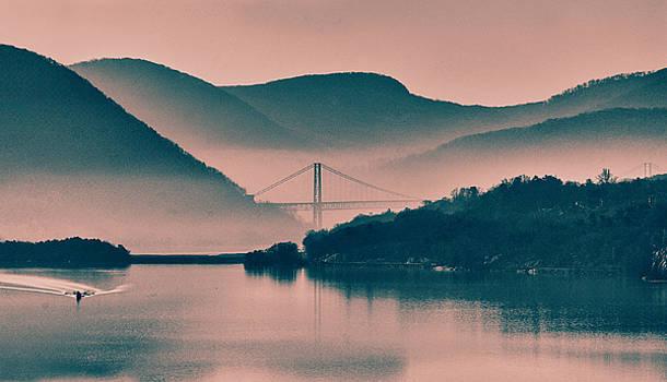 Hudson Highlands Fog by Nancy De Flon