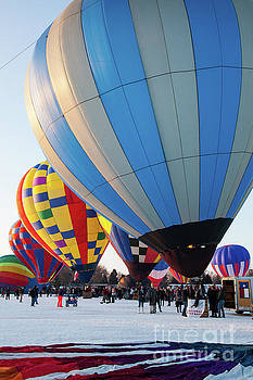 Wayne Moran - Hudson Hot Air Balloon Festival 2018 All Lined Up