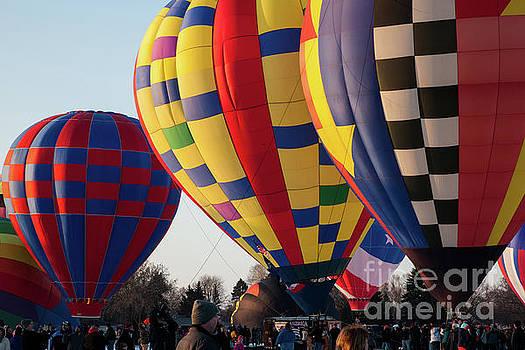 Hudson Hot Air Balloon Festival 2018 Amazing by Wayne Moran