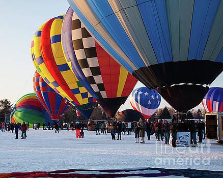 Hudson Hot Air Balloon Festival 2018 Fantastic by Wayne Moran