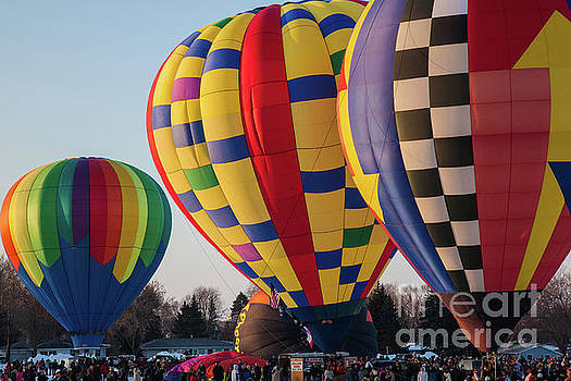 Wayne Moran - Hudson Hot Air Balloon Festival 2018 Just WOW