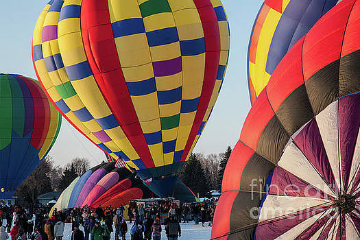 Wayne Moran - Hudson Hot Air Balloon Festival 2018 Look At The Colors