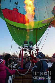 Hudson Hot Air Balloon Festival 2018 by Wayne Moran
