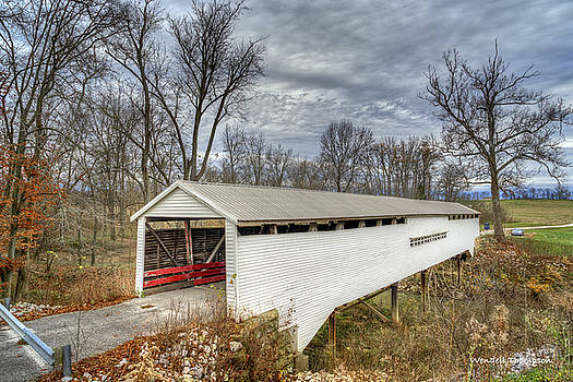 Huffman Mill Covered Bridge #1 by Wendell Thompson
