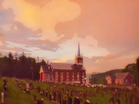 Huffs Union Church by Alicia Zimmerman