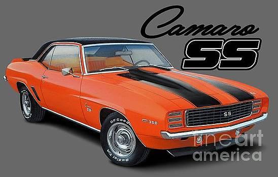 Hugger Orange Camaro by Paul Kuras