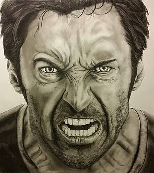 Hugh Jackman The Wolverine  by Tim Brandt