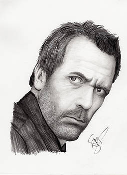 Hugh Laurie by Rosalinda Markle