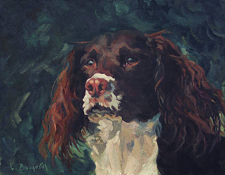 Hugo the English Setter by Lynn Gimby-Bougerol