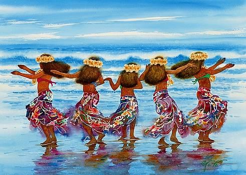 Hula Dancers 2 by John YATO