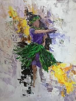 Hula Wahine by Ed Furuike