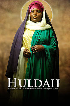 Huldah by Icons Of The Bible