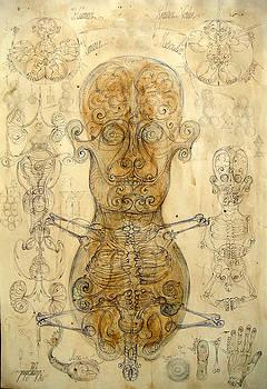 Human dual head vortex by Gabriel Kelemen
