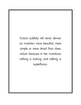 Human subtlety will never devise... by Famous Quotes