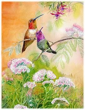 Humington Bird by Ping Yan