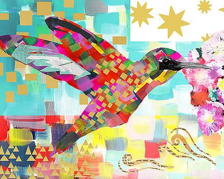 Humming Bird by Claudia Schoen