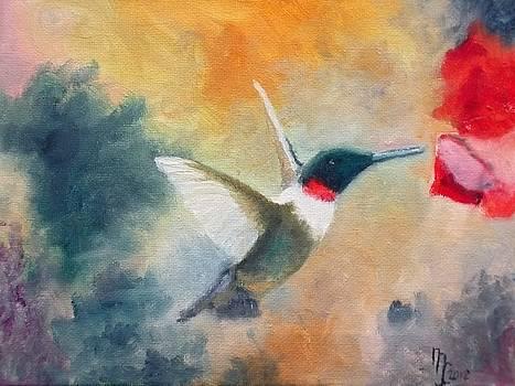 Humming bird by Michael John Cavanagh