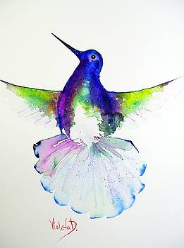 Hummingbird 4 by Violeta Damjanovic-Behrendt