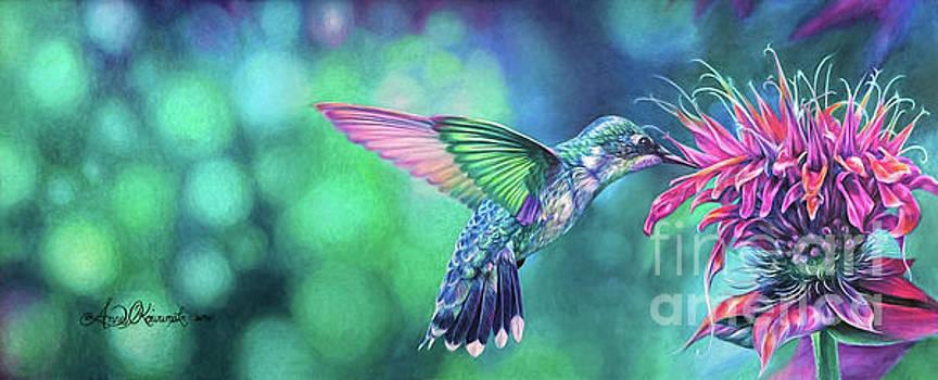 Hummingbird by Anne Koivumaki - Fine Art Anne