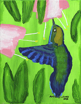 Artists With Autism Inc - Hummingbird