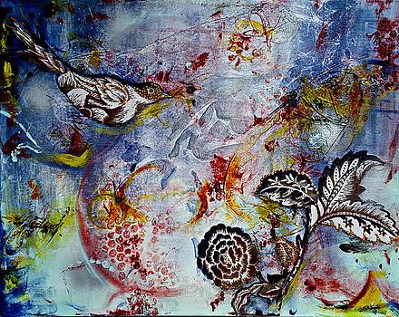 Hummingbird Ballad by Clara K Johnson