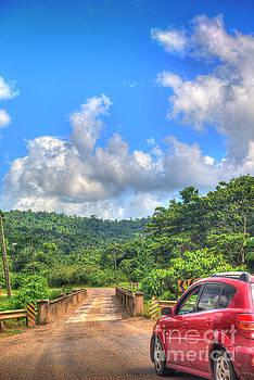 Hummingbird Highway Bridge by David Zanzinger