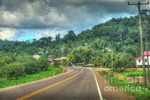 Hummingbird Highway major highway in Belize by David Zanzinger