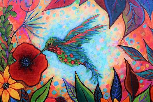 Hummingbird by Peggy Davis