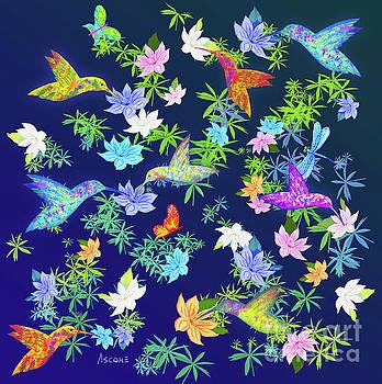 Hummingbird Spring II by Teresa Ascone