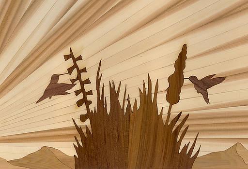 Hummingbirds by Glen Stanley