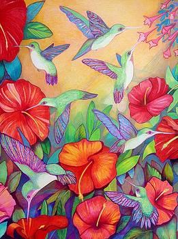 Hummingbirds by Rene LeGrue