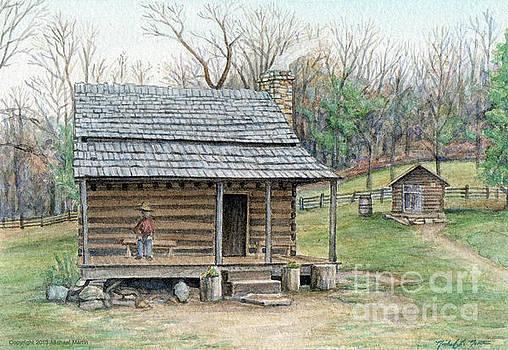 Humpback Cabin by Michael  Martin