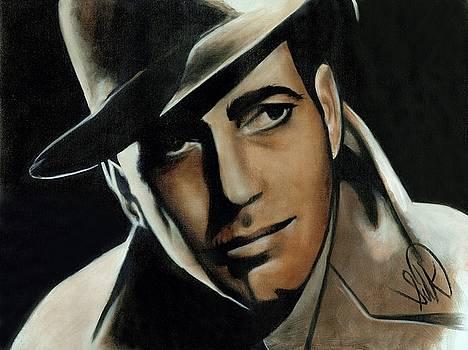 Humphrey Bogart by Elizabeth Silk