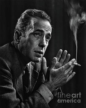 Humphrey Bogart - In Tribute to Yousuf Karsh by Doc Braham  - In Tribute to Yousuf Karsh