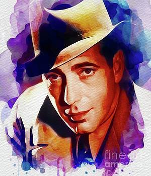 John Springfield - Humphrey Bogart, Vintage Movie Star