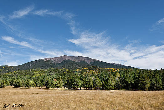Humphreys Peak from Hart Prairie by Jeff Goulden