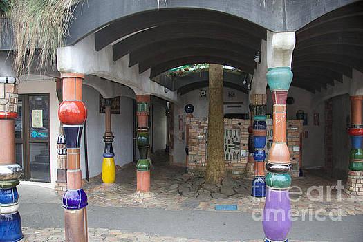 Hundertwasser Toilet Block by Anthony Forster