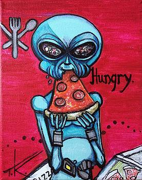 Hungry alien. by Similar Alien