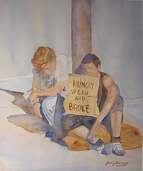 Jenny Armitage - Hungry Vegan and Broke